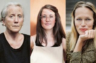 Eva Lindström, Maria Seipel, Åsa Cederqvist tre av vinnarna i Kolla! 2016