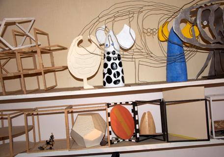 Skulpturer av Olle Eksell